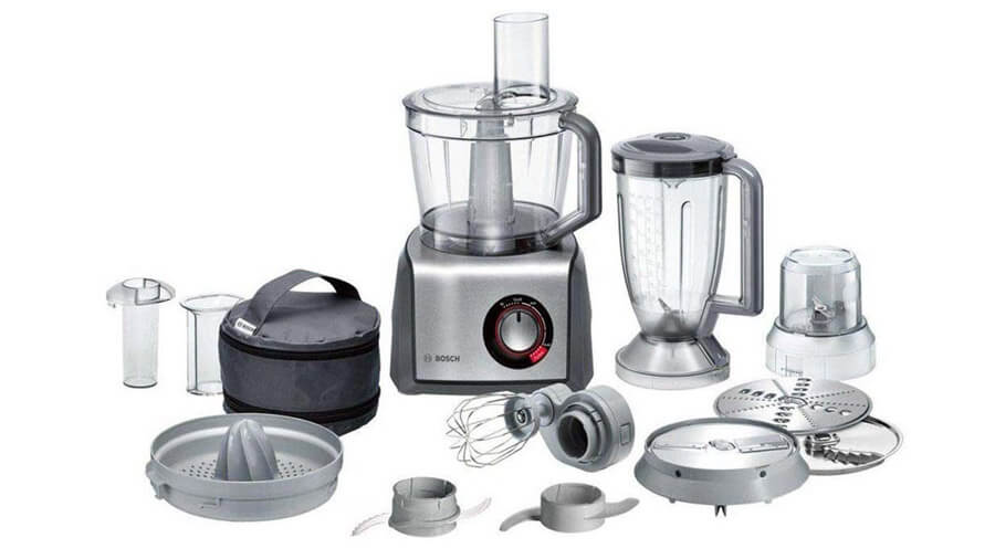 BOSCH STAINLESS STEEL FULL-SIZE FOOD PROCESSOR - MCM68861GB