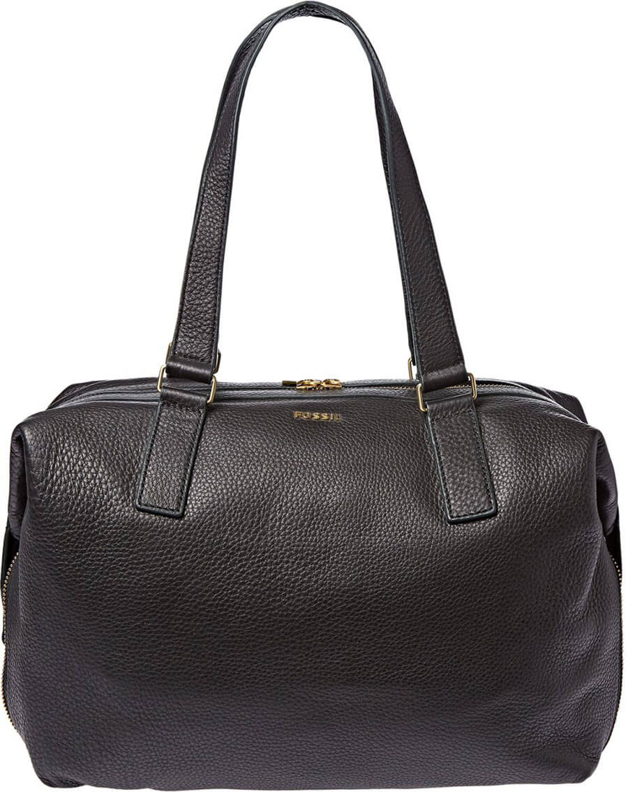 Fossil Leather Tote Bag for Women
