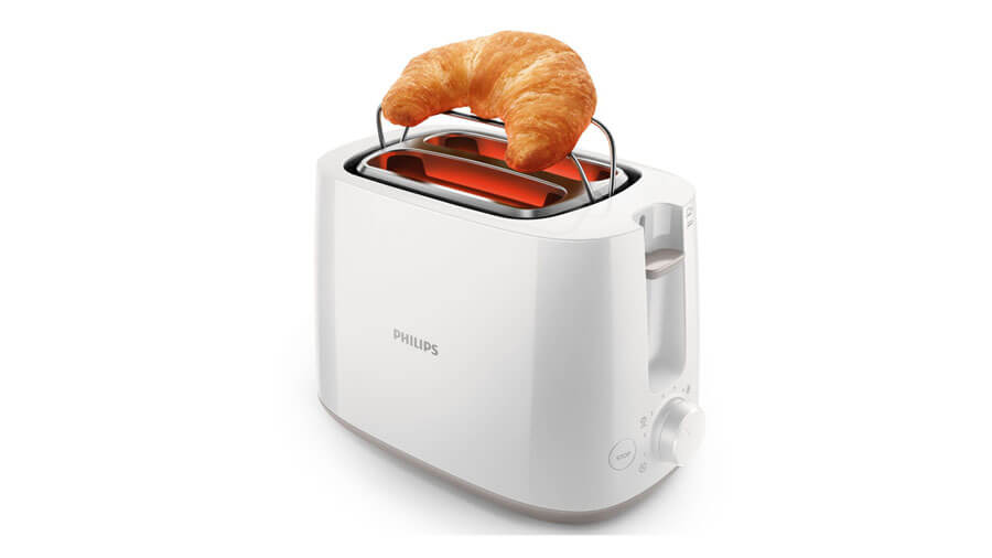 PHILIPS DAILY COLLECTION TOASTER - HD2581