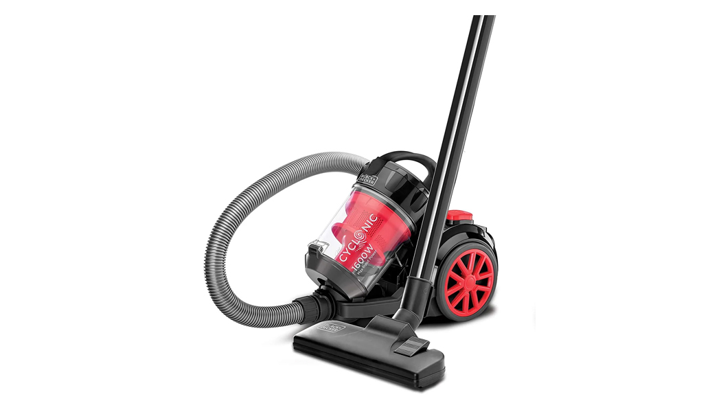 Black+decker Bagless Cyclonic Canister Vacuum Cleaner