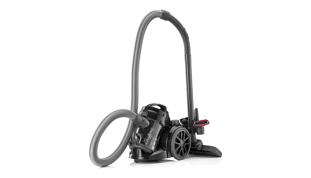 Black+Decker Bagless Multicyclonic Canister Vacuum Cleaner