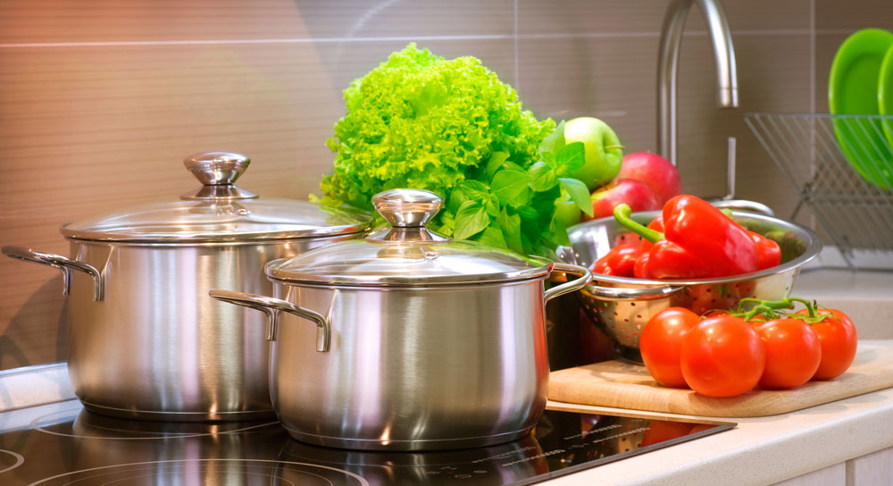 Learn the tricks for cooking perfectly using stainless-steel cookware