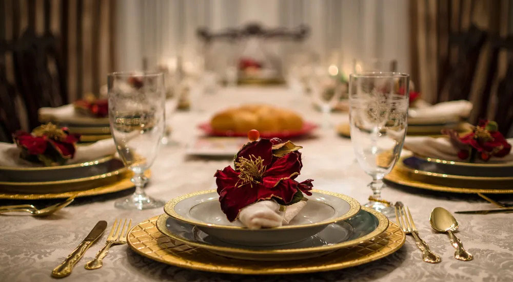 Types of dinner set place settings