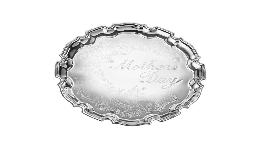 Queen Anne Large Happy Mother's Day Tray