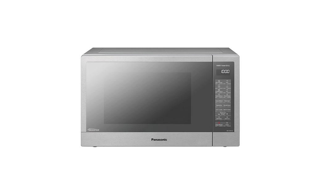 Panasonic 31 Liters Inverter Microwave with Grill, Silver - NNGT67J