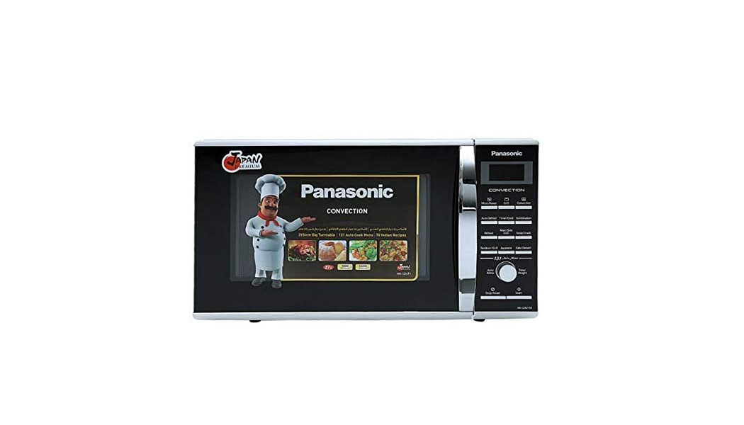 Panasonic Convection NN CD671 27 Liter Microwave Oven – Silver