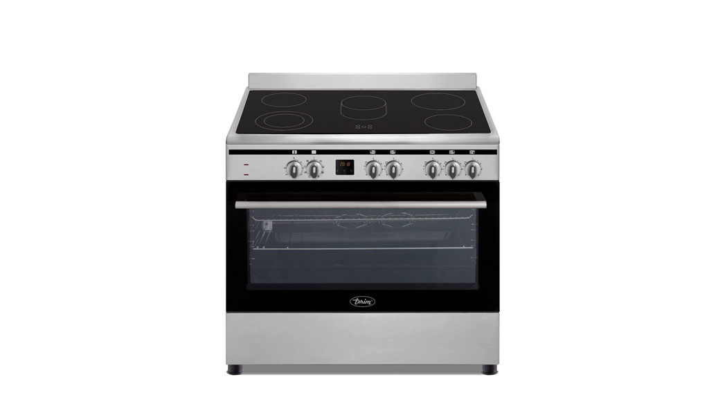 Terim 90X60 Ceramic Cooking Range, 9 Oven Function with Turbo Fan, TERVC96ST, 1 Year Warranty