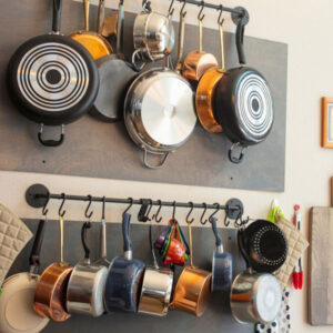The best cookware organising solutions for a neat and uncluttered kitchen