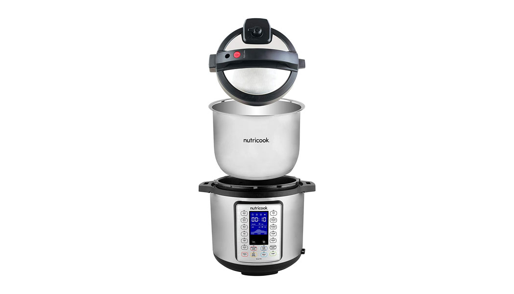 Nutricook Smart Pot Prime 1200 Watts - 10 in 1 Instant Programmable Electric Pressure Cooker